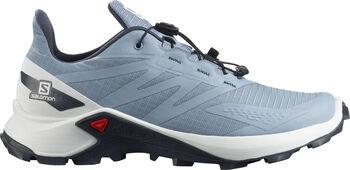 Salomon Supercross Blast Traillaufschuhe Damen blau