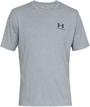 Under Armour SPORTSTYLE LEFT T-Shirt Herren grau