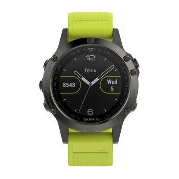 Garmin Fenix 5 GPS-Multisportuhr gelb
