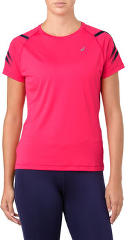 Asics Shirt ICON SS Damen pink