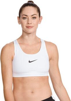 Nike Swoosh Sport-BH Damen weiß