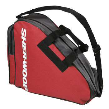 Sher-Wood Eislaufschuhtasche rot
