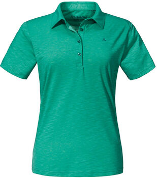 SCHÖFFEL Capri1 Poloshirt Damen blau