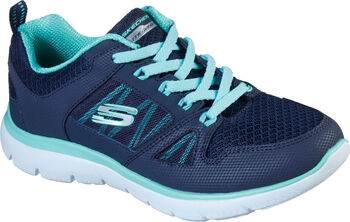 Skechers Summits New World Fitnessschuhe Damen blau