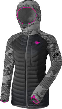 DYNAFIT Radical Daunenjacke mit Kapuze Damen grau
