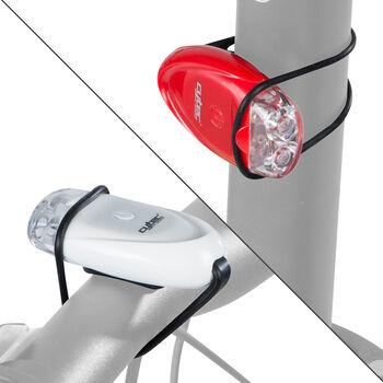 Cytec Blinky 2 LED Vorder- und Rücklicht im Set weiß