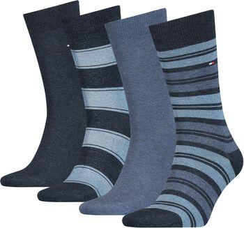 Tommy Jeans Tommy Hilfiger Stripe SockHr. Socken-Geschenkbox Herren blau