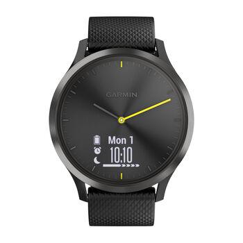 Garmin vivomove HR Sport Hybrid-Smartwatch schwarz