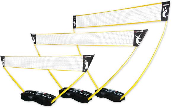 3 in 1 Netz-Set Volleybal/Badminton/Tennis
