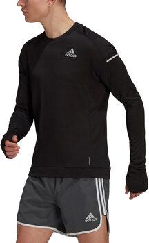 adidas Cooler Laufshirt Herren schwarz