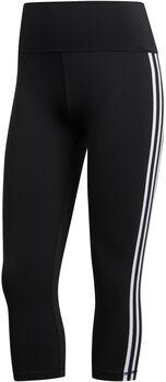 adidas Believe This 2.0 3-Streifen 3/4-Tights Damen schwarz