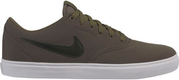 Nike SB Check Solar CNVS Skateboardschuhe Herren grün