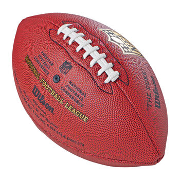 Wilson NFL Duke Replica American Football braun