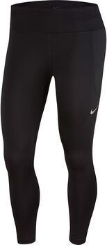 Nike Fast Crop Tights Damen schwarz