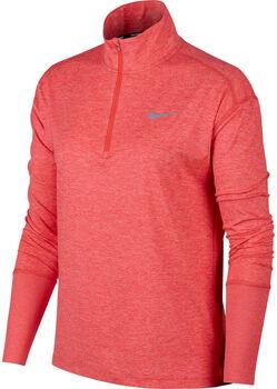 Nike Element Half Zip Langarmshirt Damen orange