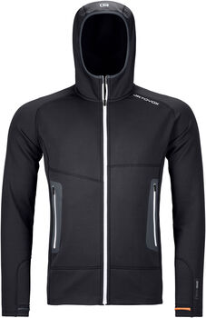 ORTOVOX Fleece Light Fleecejacke  Herren schwarz