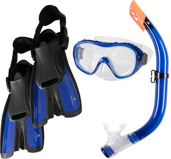 TECNOPRO ST5 3 Tauch-Set blau