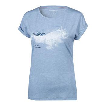 MAMMUT Mountain T-Shirt Damen grau