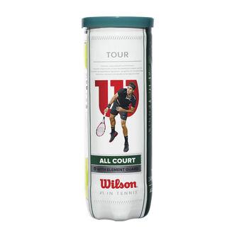 Tour All Court 3er Pack Tennisbälle