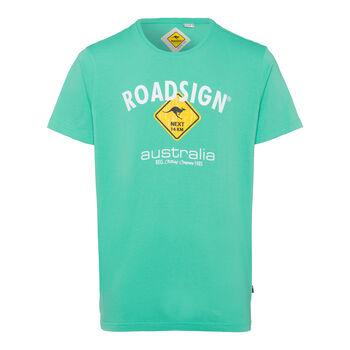 Roadsign Basic Logo Tee  Herren grün
