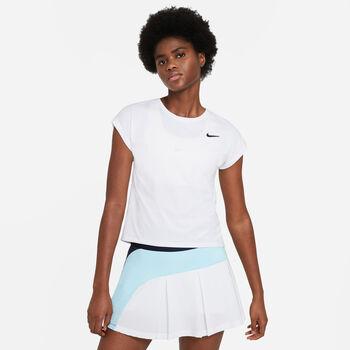 Nike Court Dri-FIT Victory T-Shirt Damen weiß