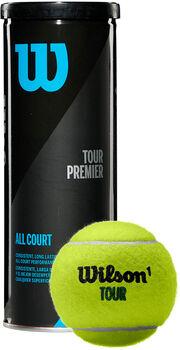 Wilson Tour Premier All CT Tennisbälle schwarz