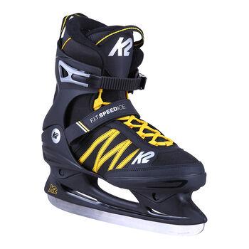 K2 F.I.T. Speed Ice Eislaufschuhe Herren schwarz