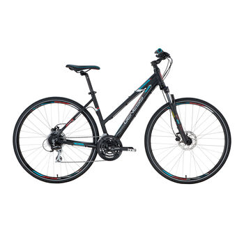 "GENESIS Speed Cross SX 3.9, Crossbike 28"" Damen schwarz"