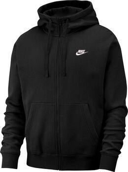 Nike Sportswear Club Fleecejacke Herren schwarz
