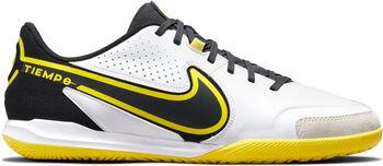 Nike Legend 9 Academy IC. Hallenfußballschuh weiß