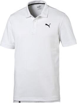 Puma Ess Pique T-Shirt Herren weiß