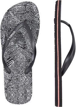 O'Neill FW M&M Print Flip Flops Damen schwarz