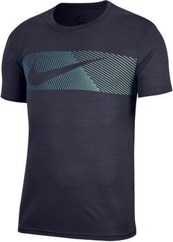 Nike Dry Superset T-Shirt Herren blau