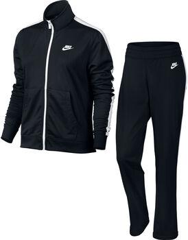 Nike Nsw Trk Suit Pk Oh Trainingsanzug Damen schwarz