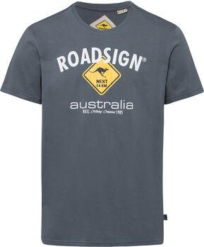 Roadsign T-Shirt Herren grau