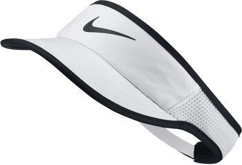 Nike Court AeroBill Featherlight Visor Damen weiß