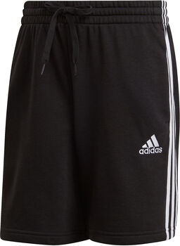 adidas Essentials French Terry 3-Streifen Shorts Herren schwarz