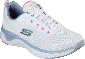 Skechers Solar Fuse-CosmicView/ Fitnessschuhe Damen weiß