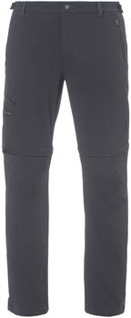 VAUDE Farley T-Zip Pants II Wanderhose Herren grau