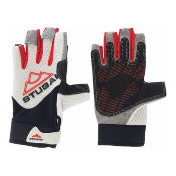 Stubai Eternal Klettersteig-Handschuhe Herren weiß