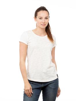 Chillaz Ötztal Feather Ornament T-Shirt Damen cremefarben