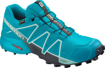 Salomon Speedcross 4 GTX Laufschuhe Damen blau