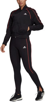 adidas Bomber Jacket and Tights Trainingsanzug Damen schwarz