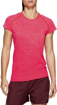 Asics Seamless SS Texture Laufshirt Damen pink