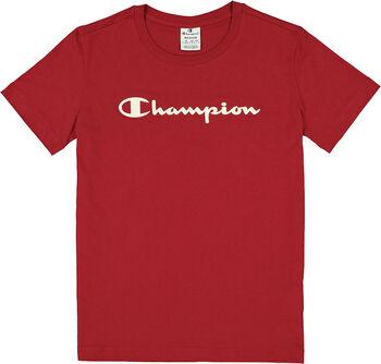 Champion Crewneck T-Shirt Damen cremefarben