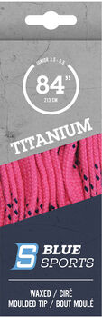 Blue Sports Titanium Pro Schnürsenkel pink