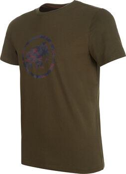 MAMMUT Logo T-Shirt Herren grün