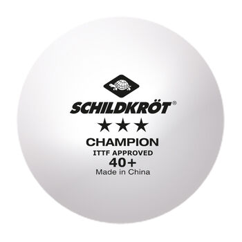 Schildkröt 3 Star Champion Ball weiß
