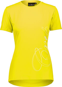 CMP Varese T-Shirt Damen gelb