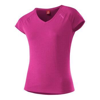 Löffler Da. T-Shirt kurzarm Damen rot